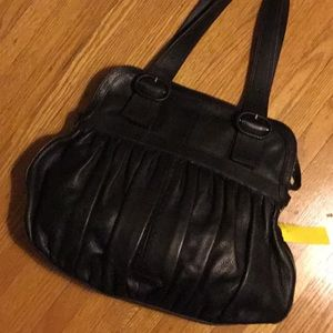 Shoulder bug Cole Hana black leather
